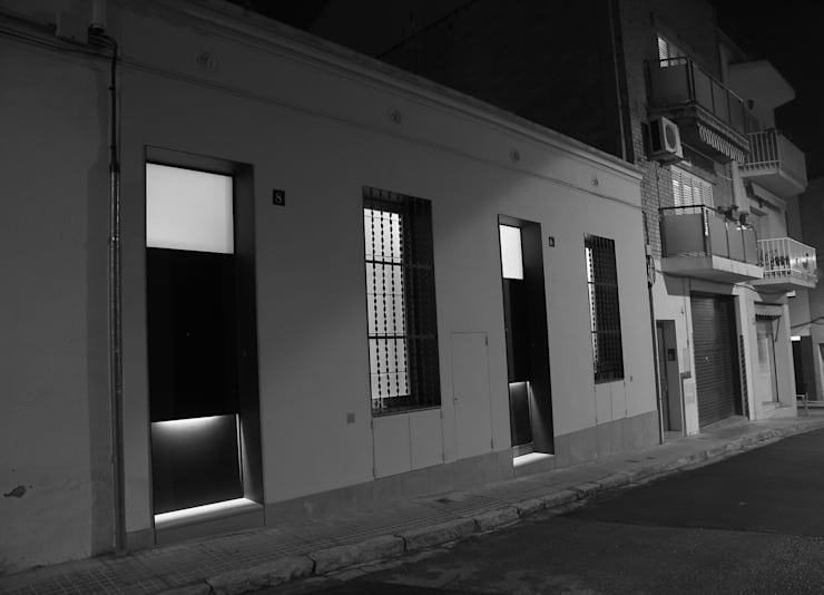 CASES JOAQUIMA www.cabreidiazarquitectes.cat: Casas de estilo  de CABRÉ I DÍAZ ARQUITECTES