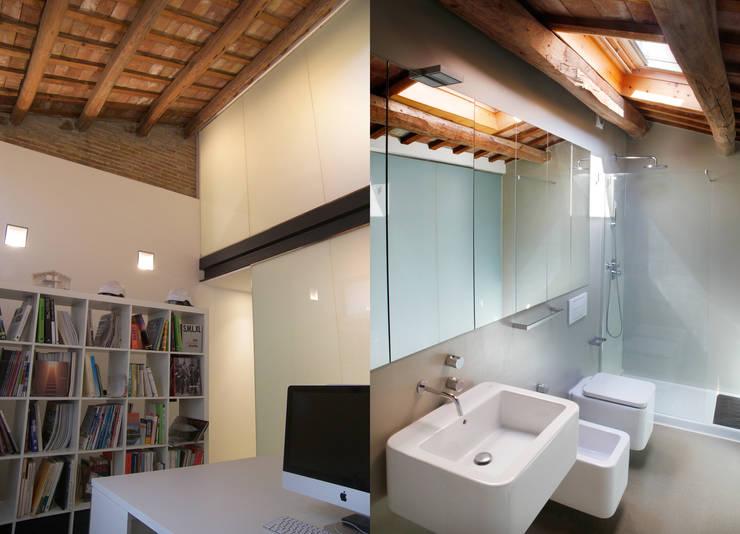 Estudio/baño: Baños de estilo  de CABRÉ I DÍAZ ARQUITECTES