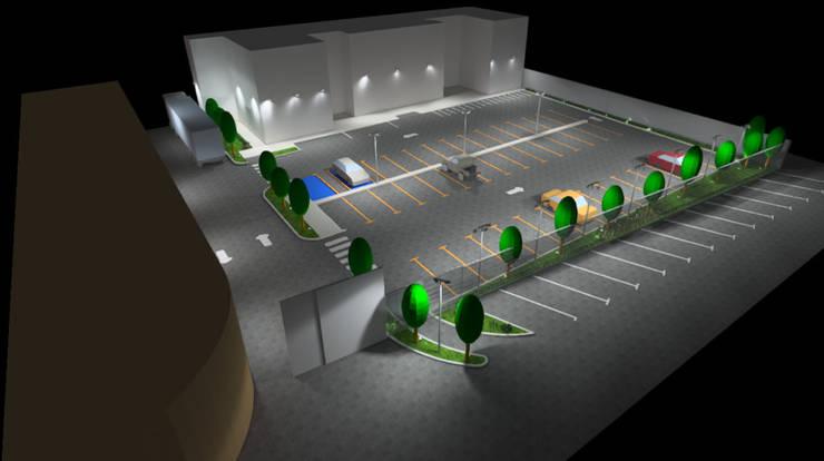 Conceptos Iluminación Exterior:  de estilo  por Profesionales Especialistas