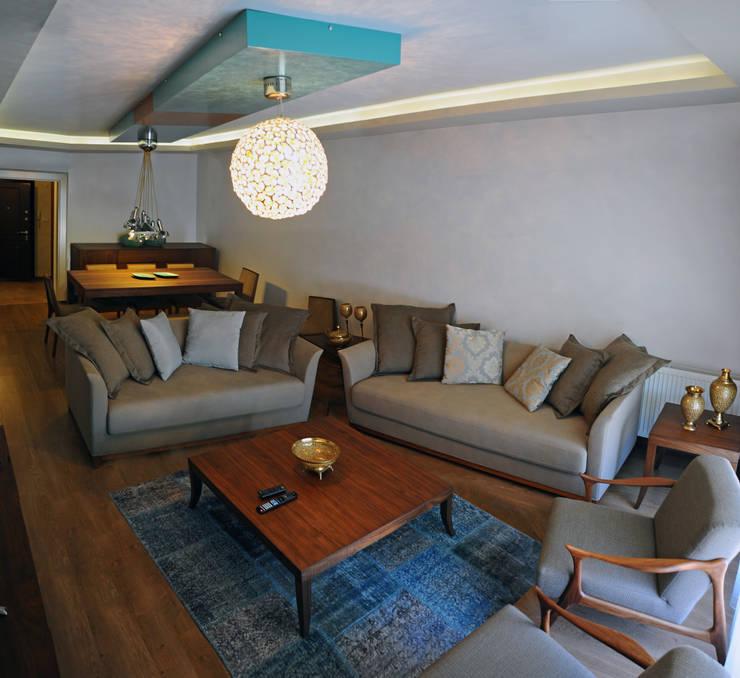 Phòng khách by Bilgece Tasarım