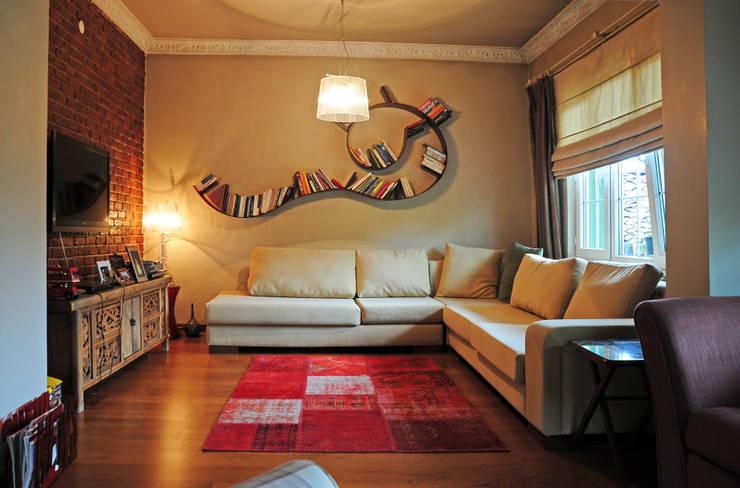 Bilgece Tasarım – Mekan Tasarımı:  tarz Oturma Odası