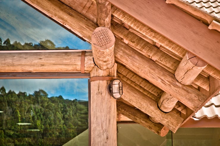 Projekty,  Domy zaprojektowane przez CARLOS EDUARDO DE LACERDA ARQUITETURA E PLANEJAMENTO LTDA.