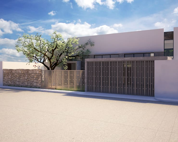 CASA P+A: Casas de estilo  por ANGOLO-grado arquitectónico