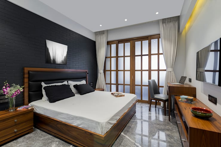 Residential - Marine Drive:  Bedroom by Nitido Interior design