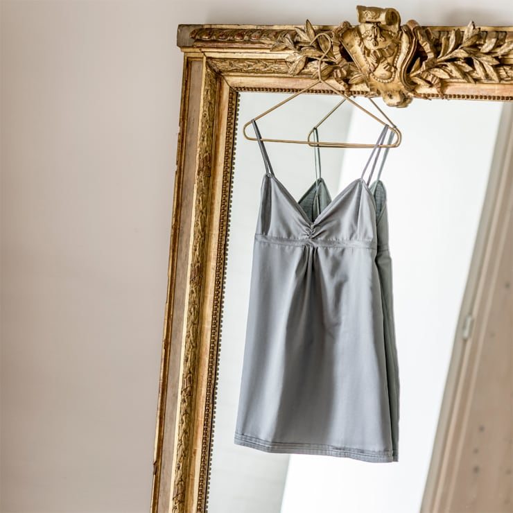 Grey Bay - Camisa de Noite 100% Algodão Egipto penteado: Quarto  por Home Concept