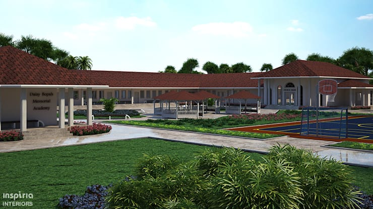 School Campus in Liberia:  Schools by Inspiria Interiors, Country