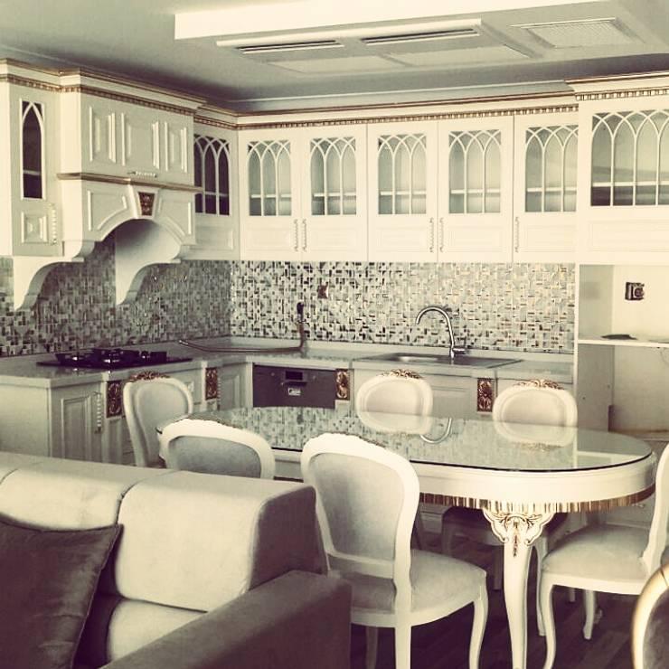 DO ART İç Mimarlık – Villa Mare Yılmaz's House:  tarz , Klasik Ahşap Ahşap rengi