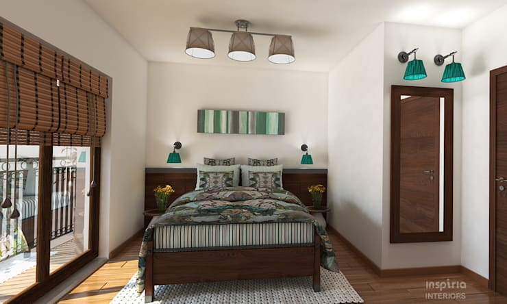 Bedroom by Inspiria Interiors, Country