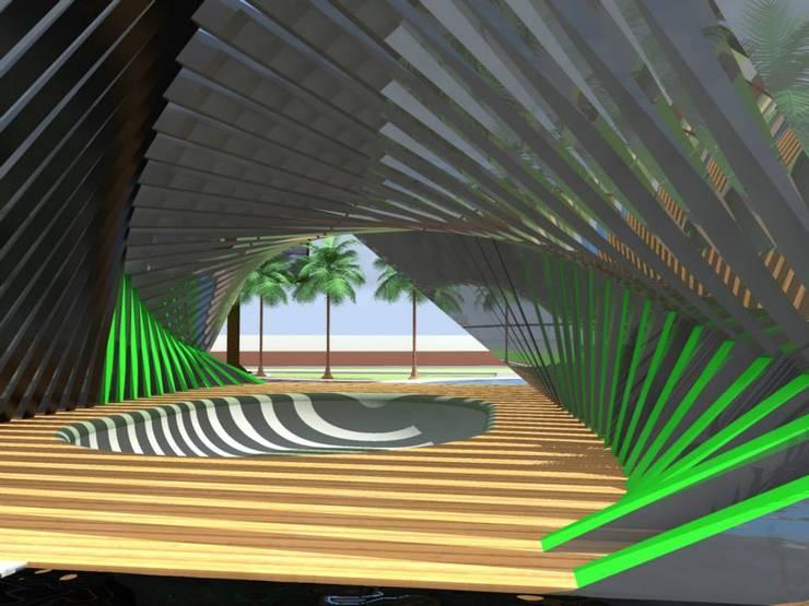 vista interna:  de estilo  por ARCHI DESIGN IBAGUE