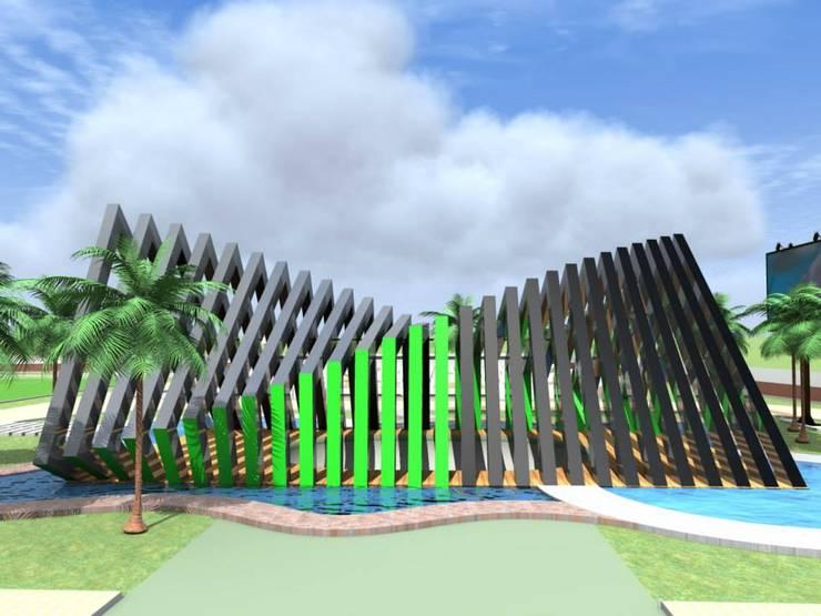 vista lateral:  de estilo  por ARCHI DESIGN IBAGUE