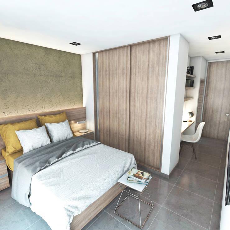 Habitaciones de estilo moderno por FILIPPIS/DIP - DISEÑO Y CONSTRUCCION