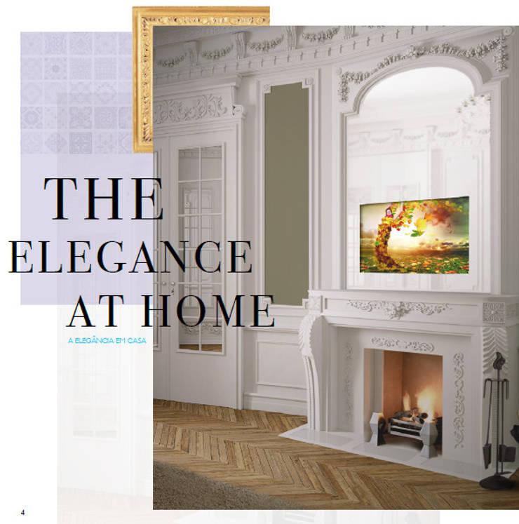 IllusionTV The elegance at Home: Casa  por Glassinnovation - Glass'IN