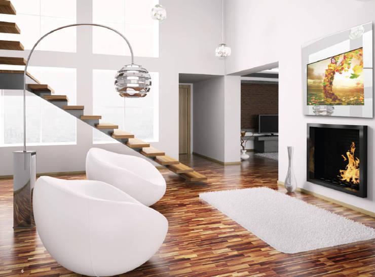 IllusionTV: Casa  por Glassinnovation - Glass'IN