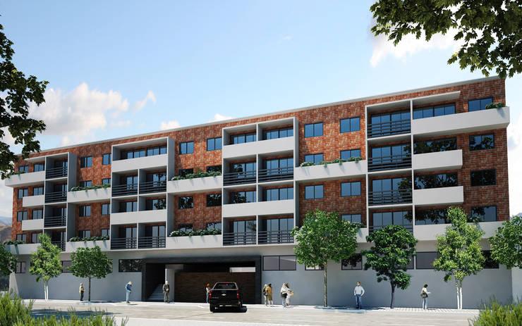 San Isidro : Casas de estilo  por ARCO Arquitectura Contemporánea