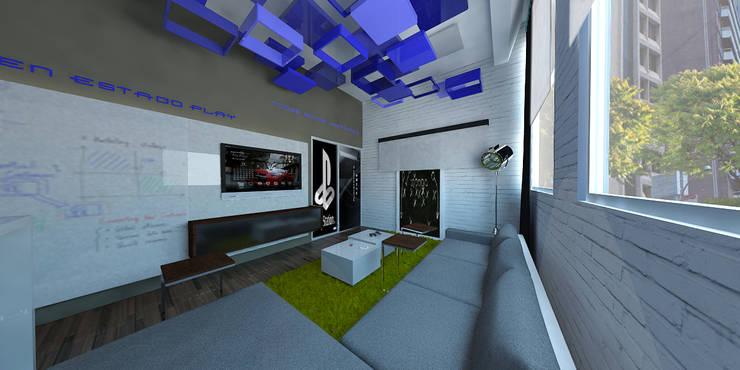 Ruang Kerja oleh ARCO Arquitectura Contemporánea , Modern