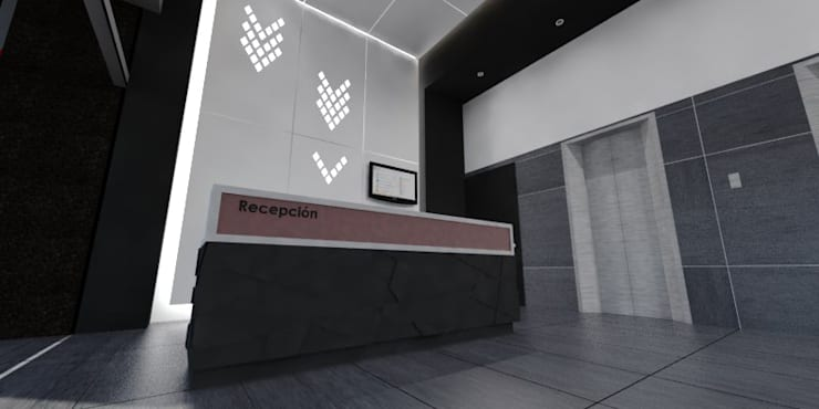 Study/office by ARCO Arquitectura Contemporánea ,