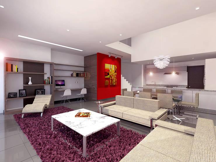Cenit 2: Salas de estilo  por ARCO Arquitectura Contemporánea