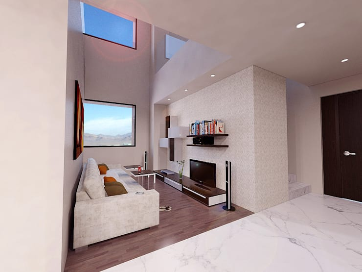 Cenit 2: Salas multimedia de estilo  por ARCO Arquitectura Contemporánea