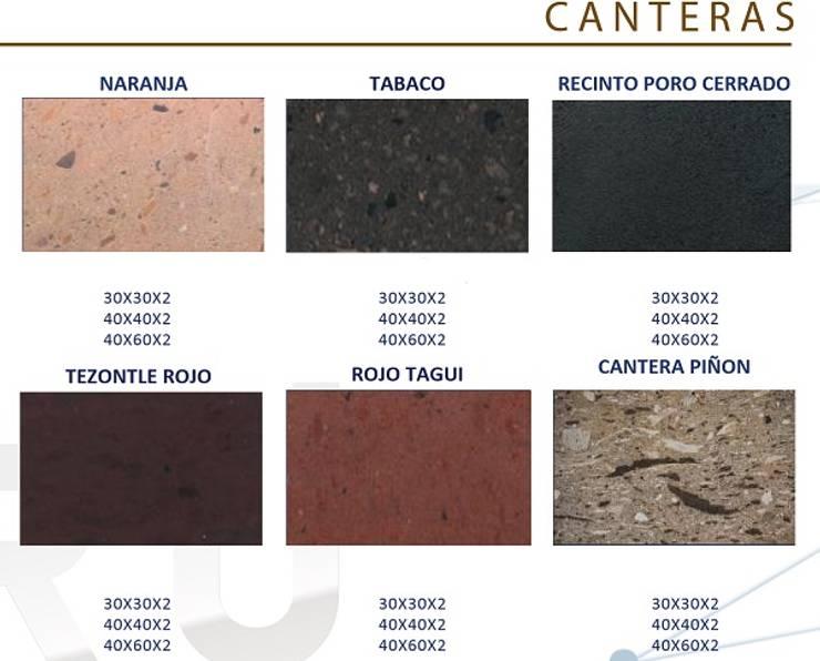 CANTERA LAMINADA: Paisajismo de interiores de estilo  por ENFOQUE CONSTRUCTIVO