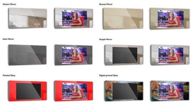 Tipos de vidro IllusionTV:   por Glassinnovation - Glass'IN
