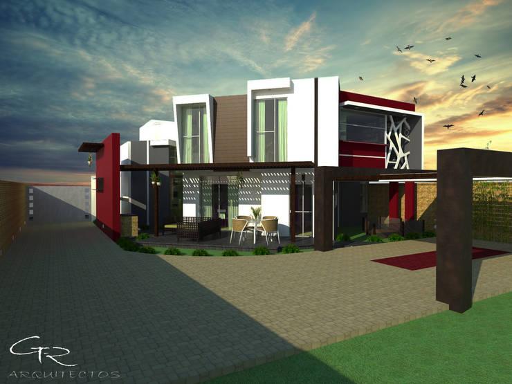House Paraíso: Casas de estilo  por GT-R Arquitectos