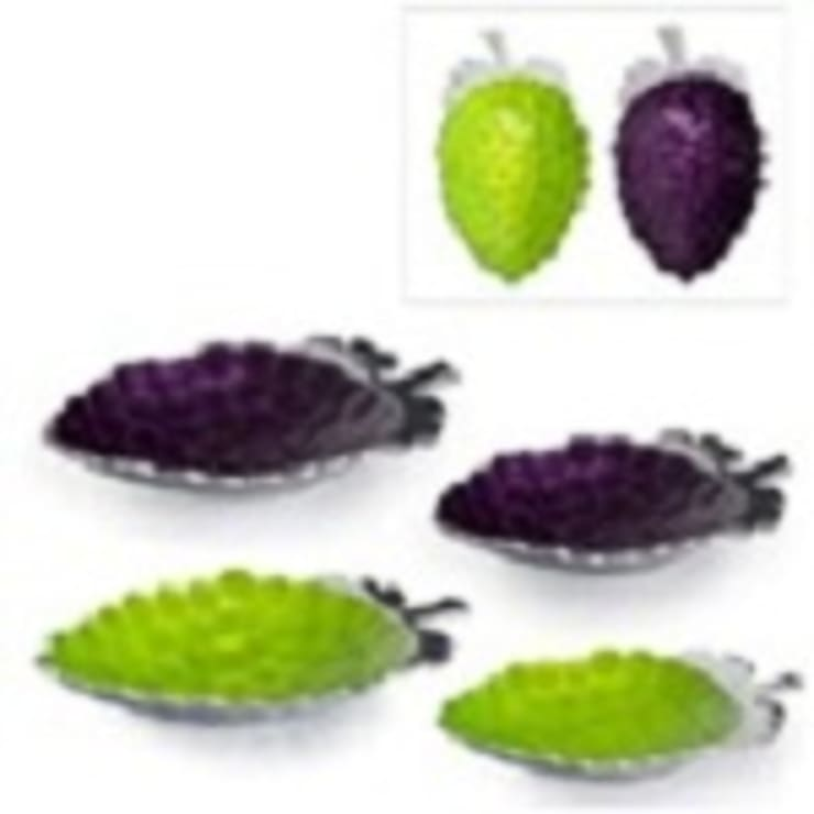 Alu. Grapes Dish Size  : asian  by Alyth Creations,Asian