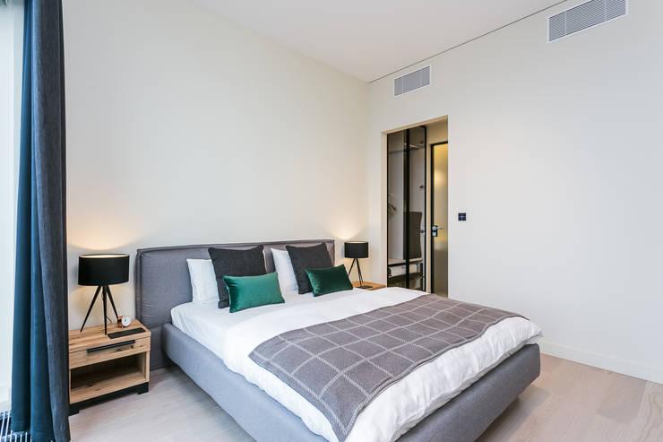 moderne Schlafzimmer von Michał Młynarczyk Fotograf Wnętrz