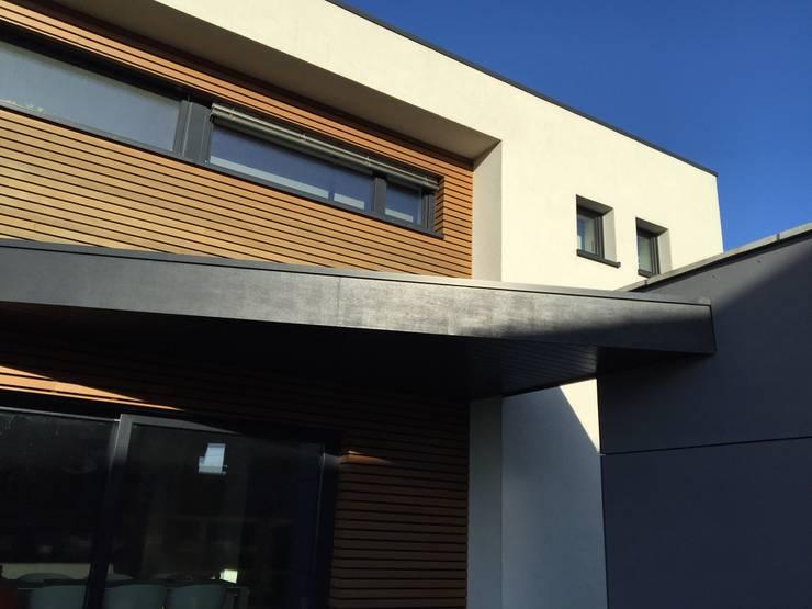 Bureau d'Architectes Desmedt Purnelle: modern tarz Evler