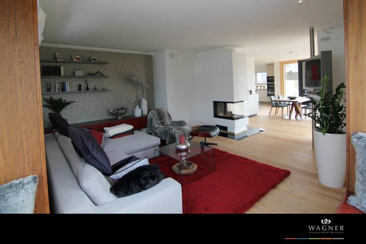 modern Living room by Wagner Möbel Manufaktur