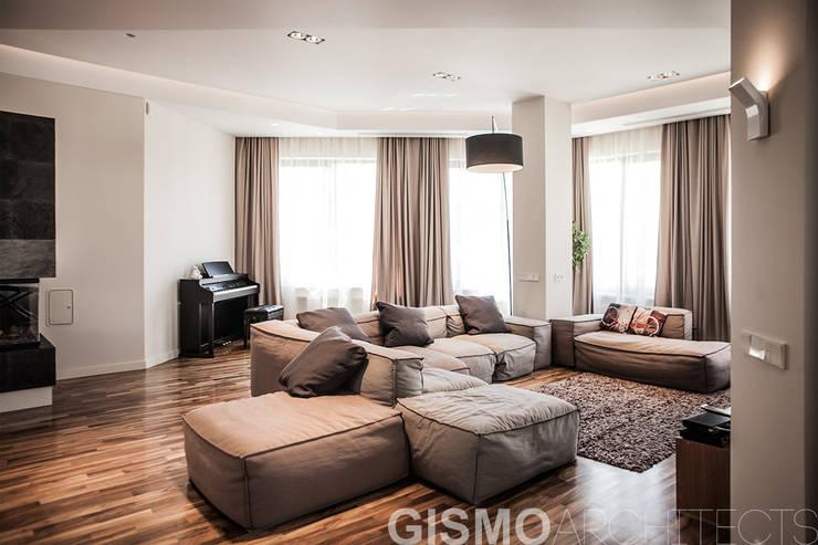 Wohnzimmer von GISMOARCHITECTS