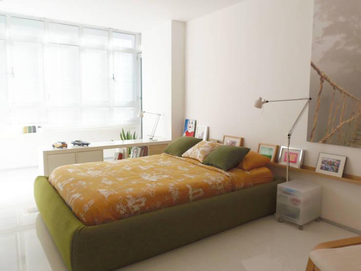 Reforma interior : Dormitorios de estilo  de DIsens®