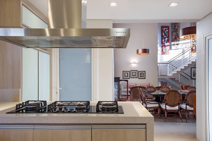 Cocinas de estilo  por Cabral Arquitetura Ltda.