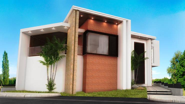 VISTA GENIAL: Casas de estilo  por PROYECTARQ   ARQUITECTOS