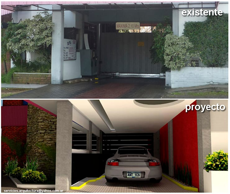 REFORMA Y CAMBIO DE IMAGEN - HOTEL FULL TIME:  de estilo  por ARQUITECTURA FENG SHUI