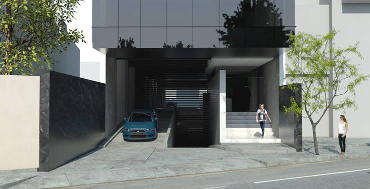 Av. Constituyentes : Casas de estilo  por ARCO Arquitectura Contemporánea