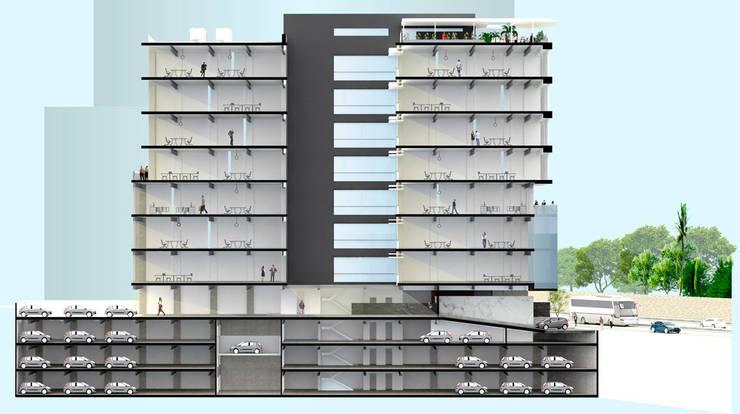 Rumah oleh ARCO Arquitectura Contemporánea , Modern