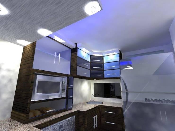 diseño de cocina propuesta 1:  de estilo  por SpaceColArq