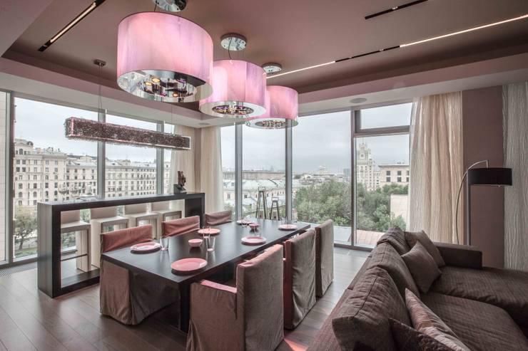 Appartment on Tverskaya Street in Moscow:  в . Автор – Архитектурное бюро Лены Гординой