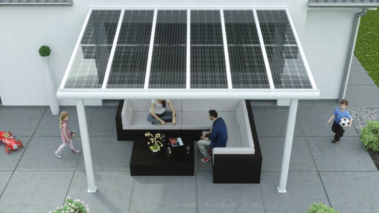de estilo  por Solarterrassen & Carportwerk GmbH