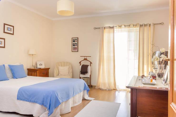 Suite Principal: Quartos  por Pedro Brás - Fotógrafo de Interiores e Arquitectura | Hotelaria | Alojamento Local | Imobiliárias
