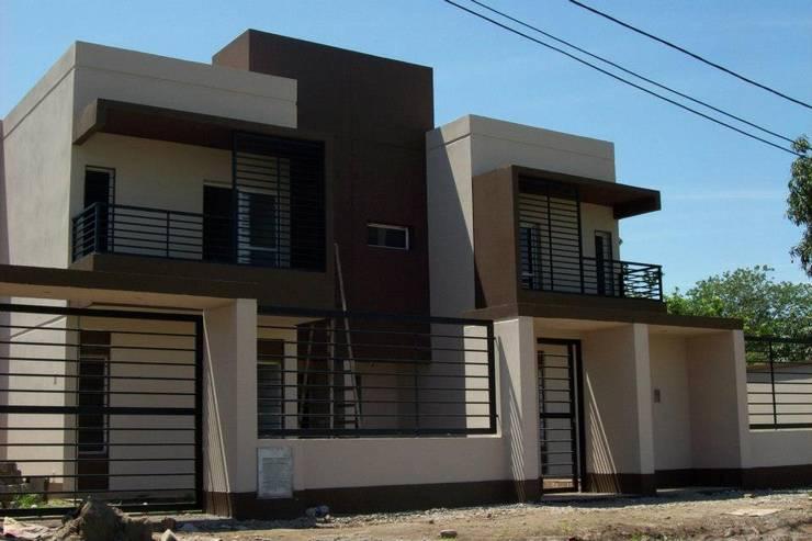 Viviendas  – Duplex: Casas de estilo  por Alejandro Acevedo - Arquitectura,
