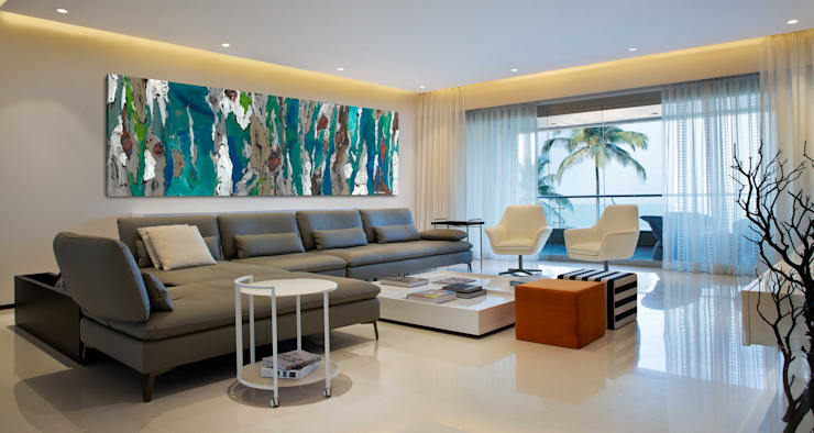 Residential—Juhu 2: modern Living room by Nitido Interior design