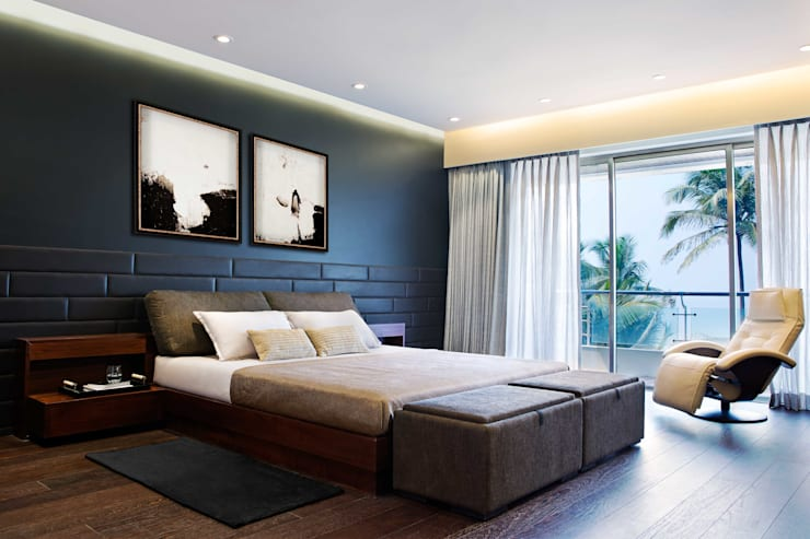 Residential—Juhu 2: modern Bedroom by Nitido Interior design