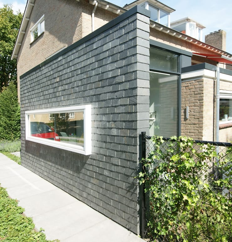 Leien schijf:  Keuken door Jan Couwenberg Architectuur