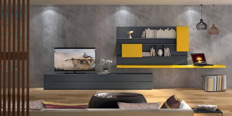 Mobiliário de sala de estar Living room furniture www.intense-mobiliario.com  Ivis http://intense-mobiliario.com/product.php?id_product=3660: Sala de estar  por Intense mobiliário e interiores;