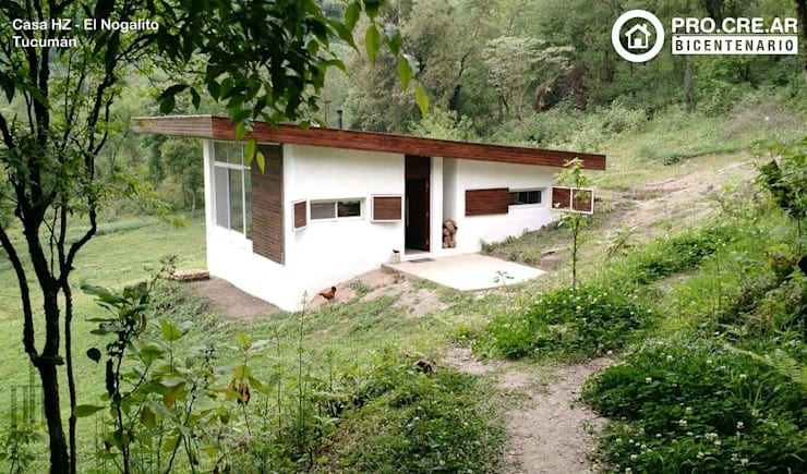 Casa HZ: Casas de estilo  por PH Arquitectos,