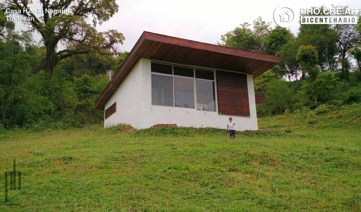 Casa HZ: Casas de estilo rural por PH Arquitectos