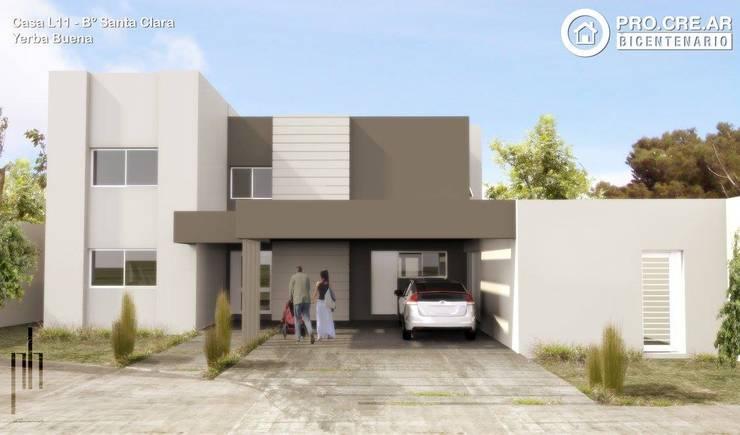 Casa L11:  de estilo  por PH Arquitectos