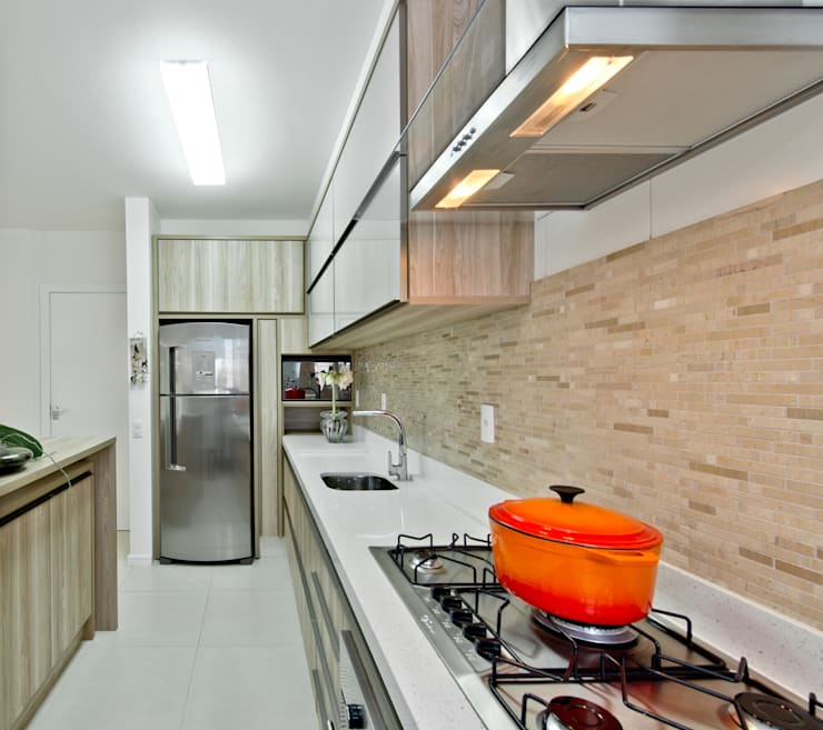 Mendonça Pinheiro Interiores:  tarz Mutfak