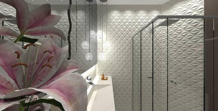 Projetos de Banheiros: Banheiro  por Braun Moveis